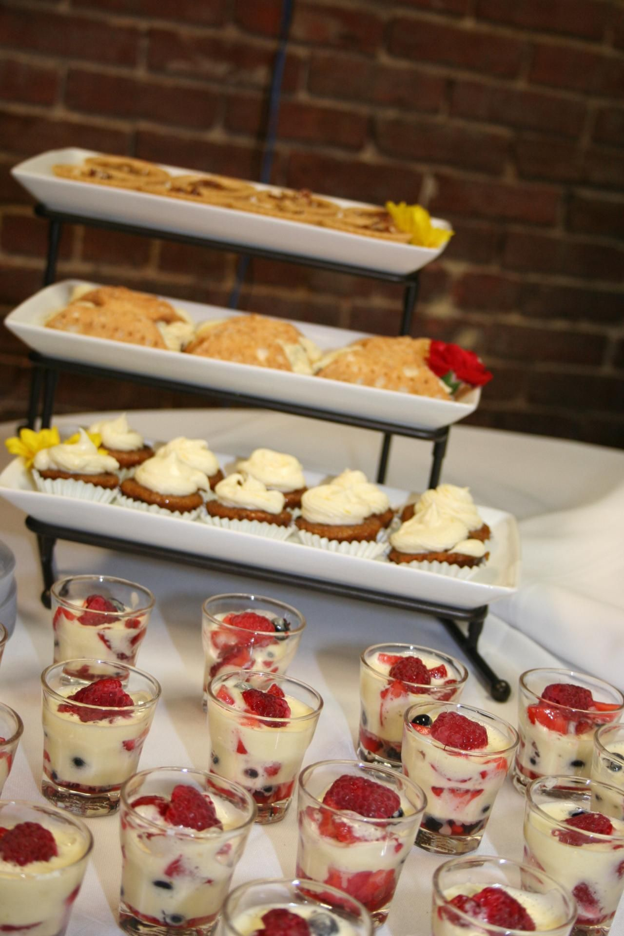 Dessert buffet viennese hour party ideas pinterest