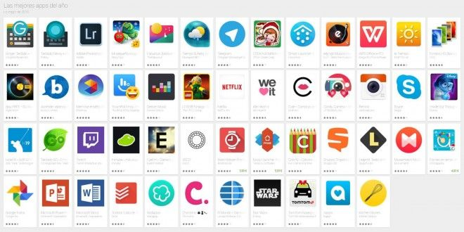 Las mejores Aplicaciones Android de 2015 y 2016