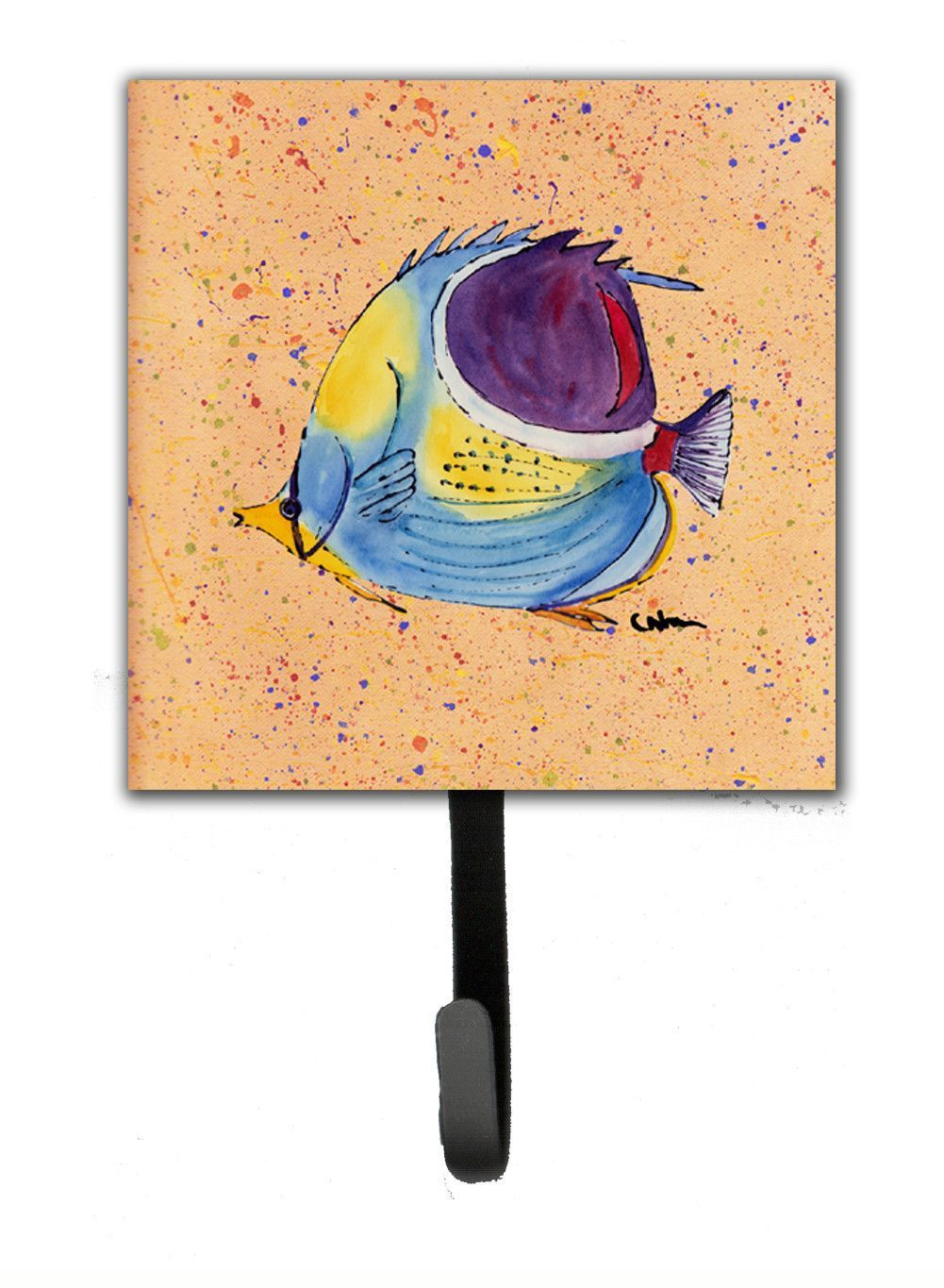 Tropical fish leash holder or key hook products pinterest products