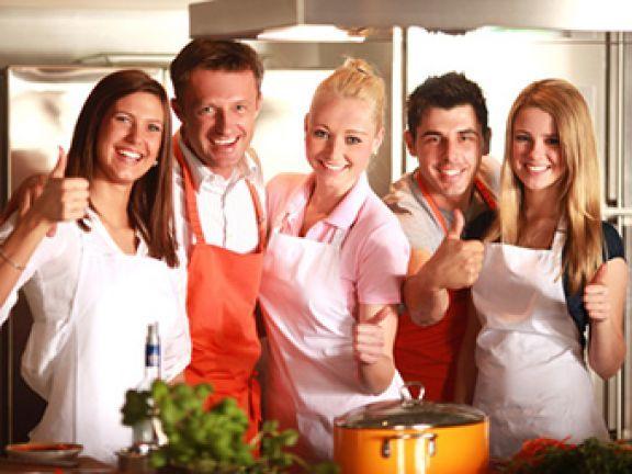 Date Kochen gemeinsam kochen hier können sie es probieren
