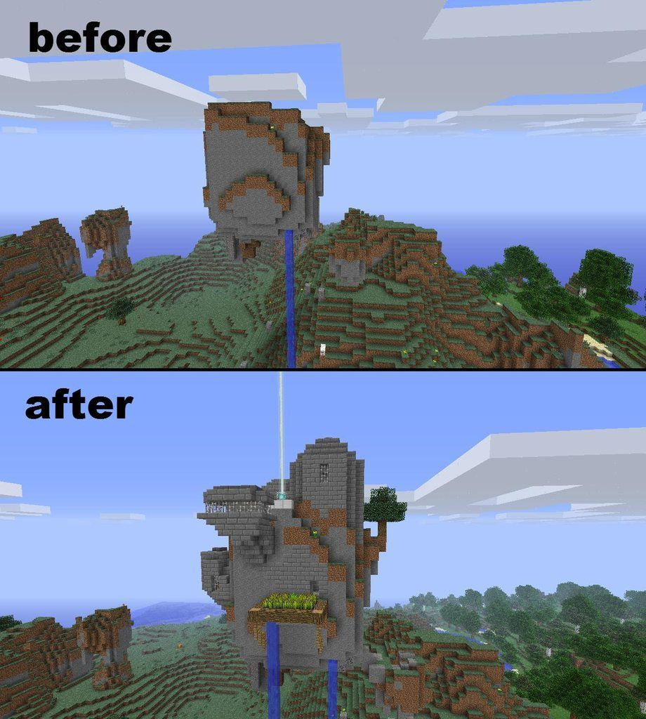 Cool Minecraft Ideas <I think I could tweak this and replicate it for the sims :)
