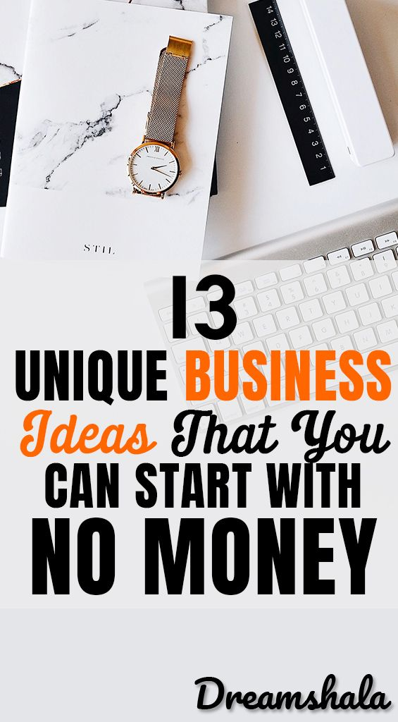 13 Easy Ideas To Start A Business Without Investment In
