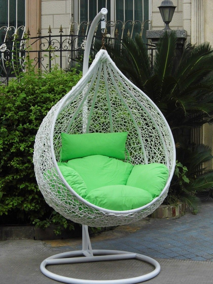 Gotgeous potio deck furniture outdoor egg shape hanging chair