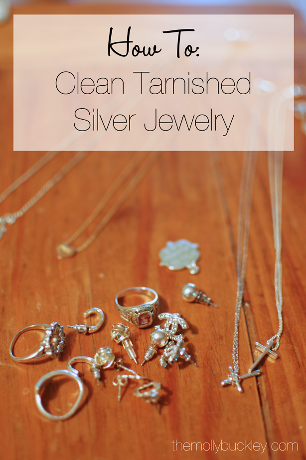 How To Clean Tarnished Silver Jewelry Trying This Chlorine Has Tarnished So Clean Tarnished Silver Jewelry Cleaning Silver Jewelry Tarnished Silver Jewelry