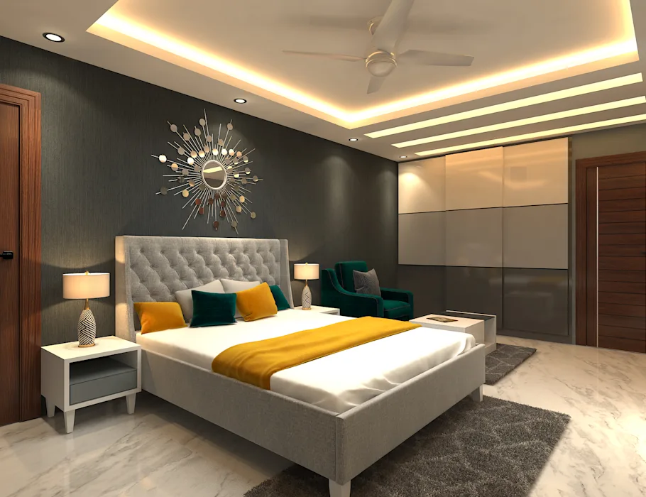 Wall Decoration Tips For Indian Homes Homify Homify Modern Style Bedroom Luxury Living Room Design Bedroom Interior