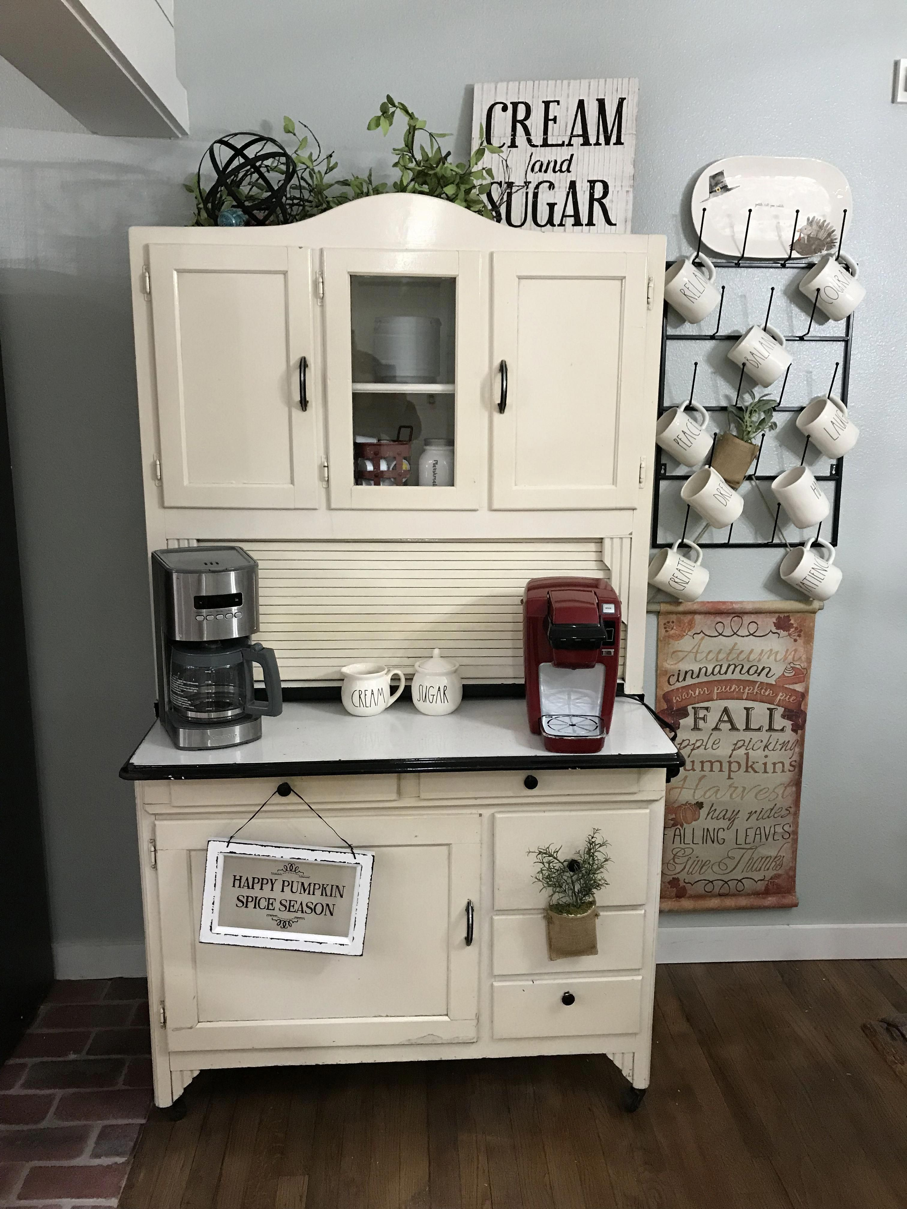 DIY Coffee Cup Rack Autumn + Ash