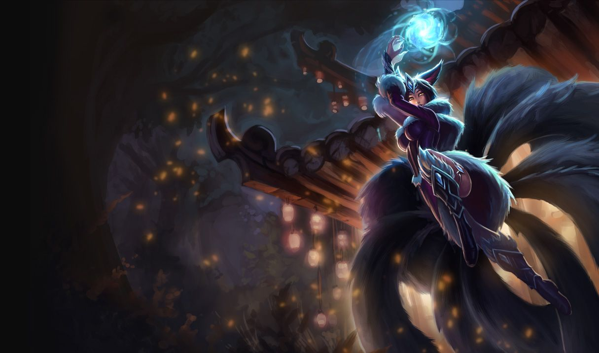 Midnight Ahri Skin Own League Of Legends Poppy