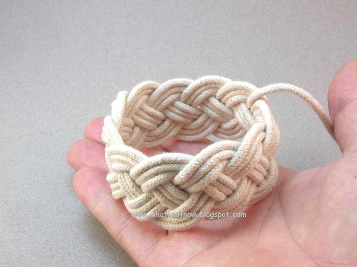 11x4x3 Tutorial Part 3 Rope Bracelets Diy Jewelry Knots