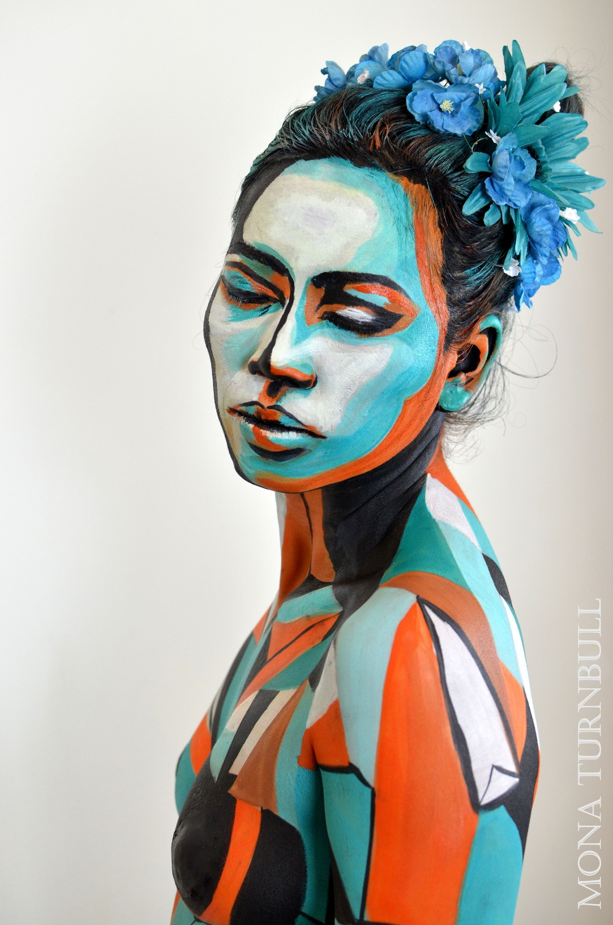 These stunning creations form the World Body Painting