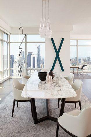 Modern Dining Room photo by Tara Benet Design