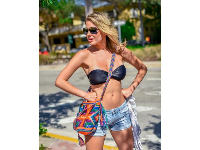 Crystal Wayuu Luxury Mochila on AHAlife