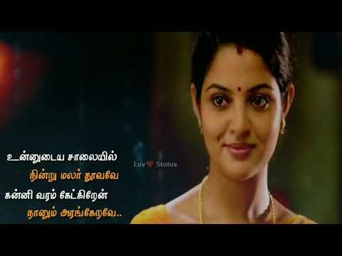 Whatsapp status Tamil video | love song |💕 Luv Status ...