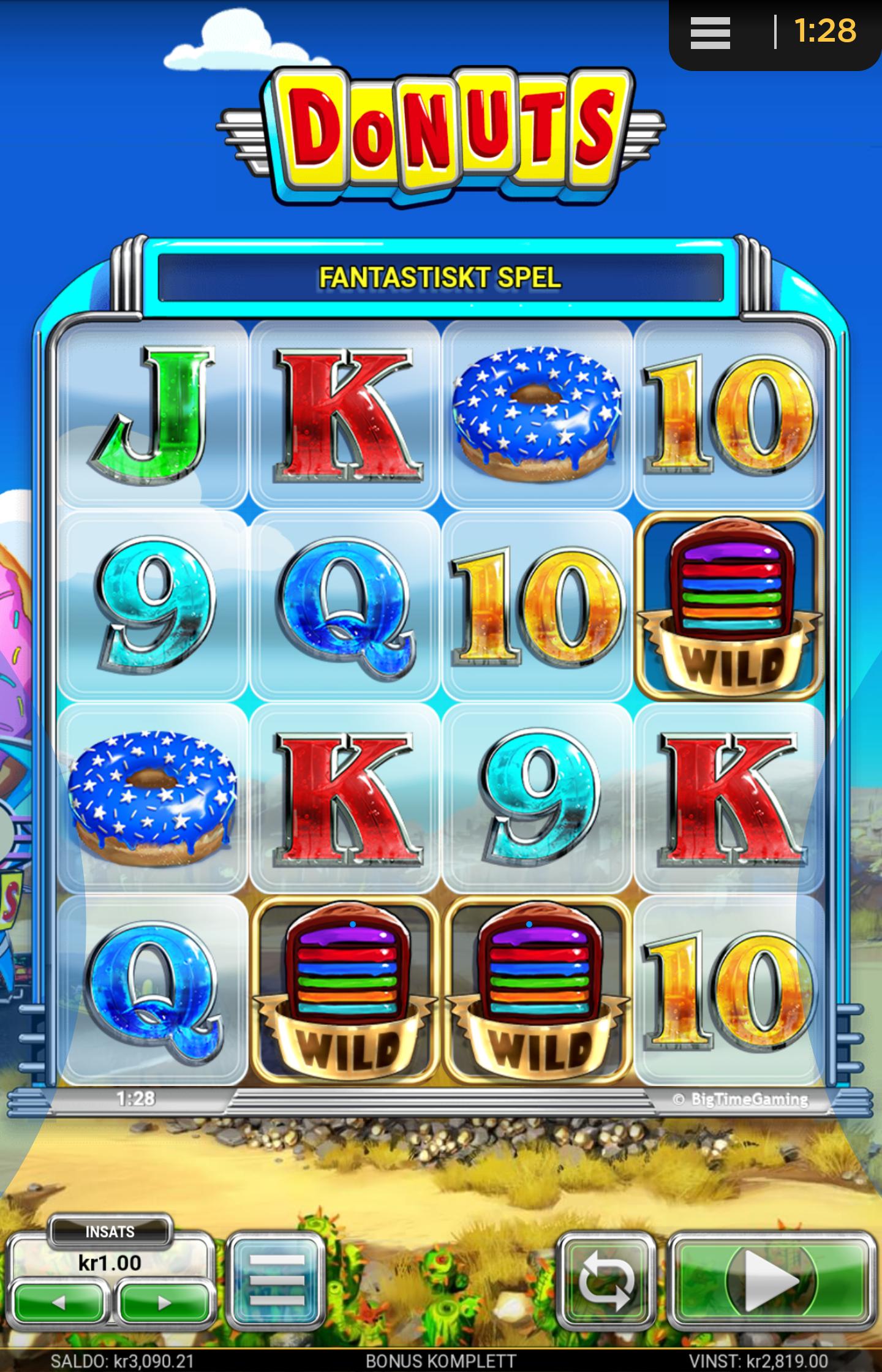 Donuts Slot Big Win X2819 Multiplier Wildsbet Win Online Casino Bonus Slot