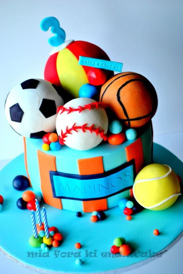 Boys Birthday Cake Ideas Cake designs Cake and Birthday cakes