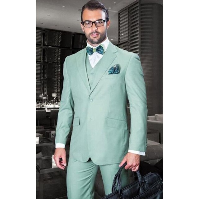 mint green tuxedo Google Search (With images) Prom