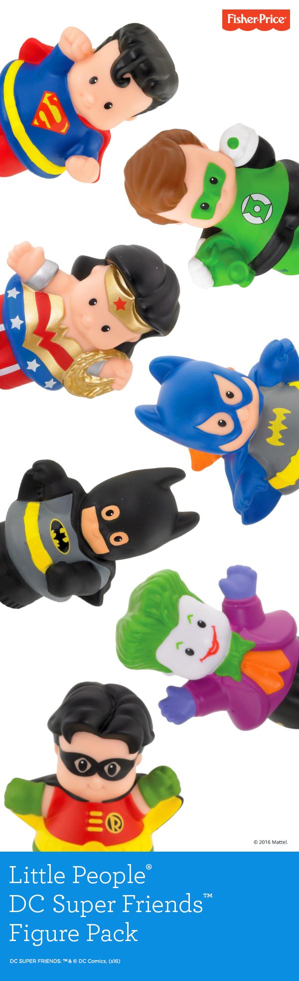 The Little People® DC Super Friends™ Figure Pack brings big ...