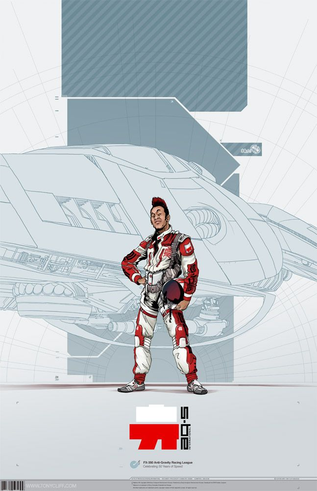 WipEout Character Concepts _04 by ~TangoCharlieESQ on deviantART