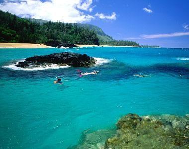 Private Beach On Kaiau Hawaii