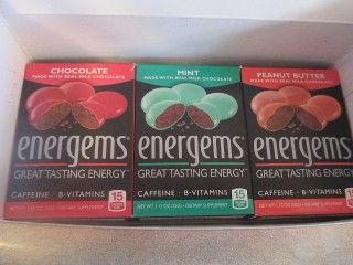 Energems Review Energy boost chocolates
