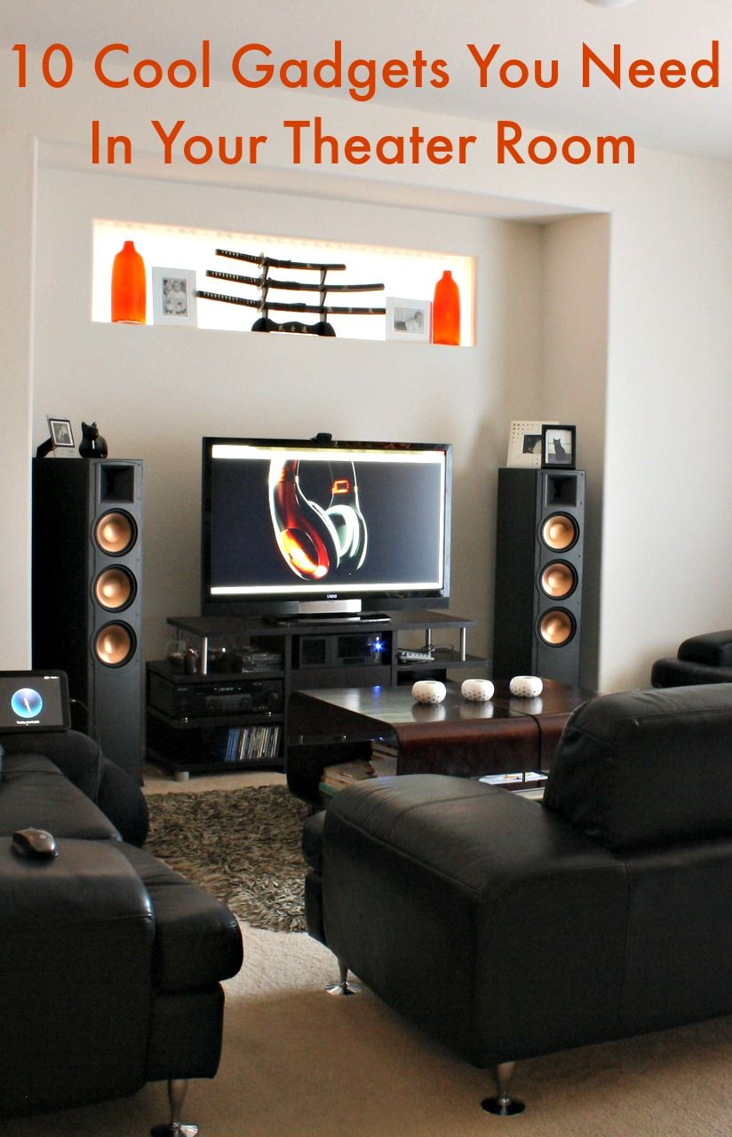 10 Cool Gadgets You Need In Your Theater Room Its A Mans World Wiring Home May Have Some Basic But It Can Be Substantially Improved With The Addition Of Very Devices