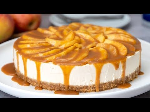 No-Bake Caramel Apple Cheesecake