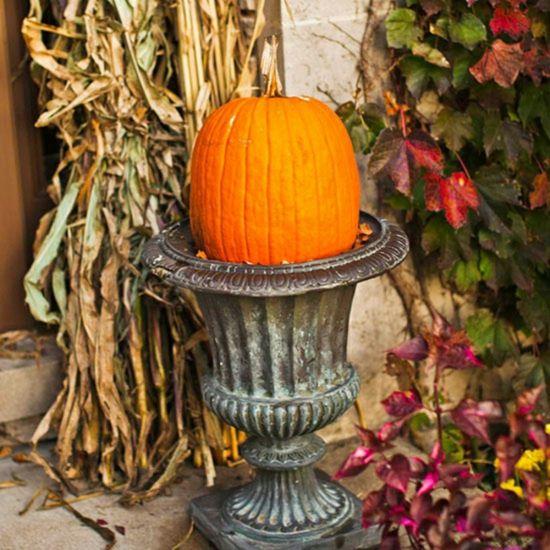 K rbis garten deko herbst fall herbst deko herbst und for Herbstliche gartendeko