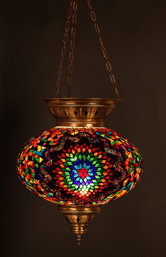The Coolest Mosaic Lamp Shades You Ll Ever See Mozaico Blog In
