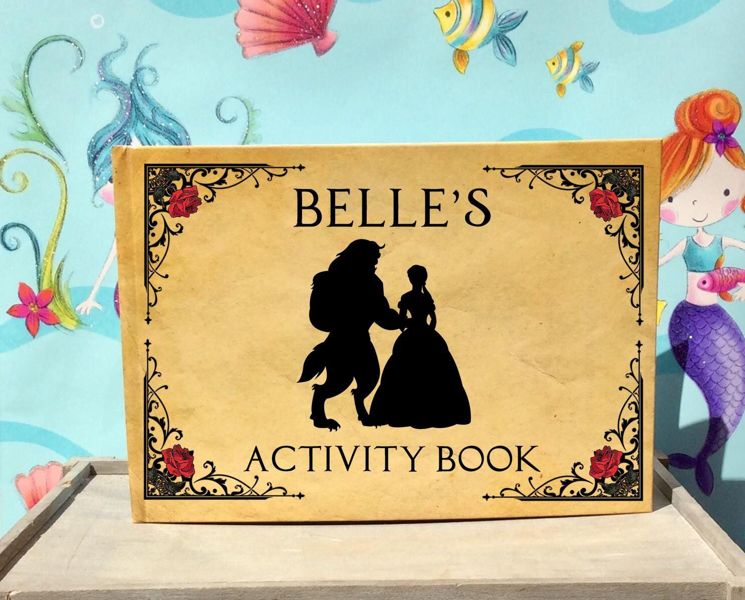 Beauty And The Beast Activity Colouring Coloring Wedding