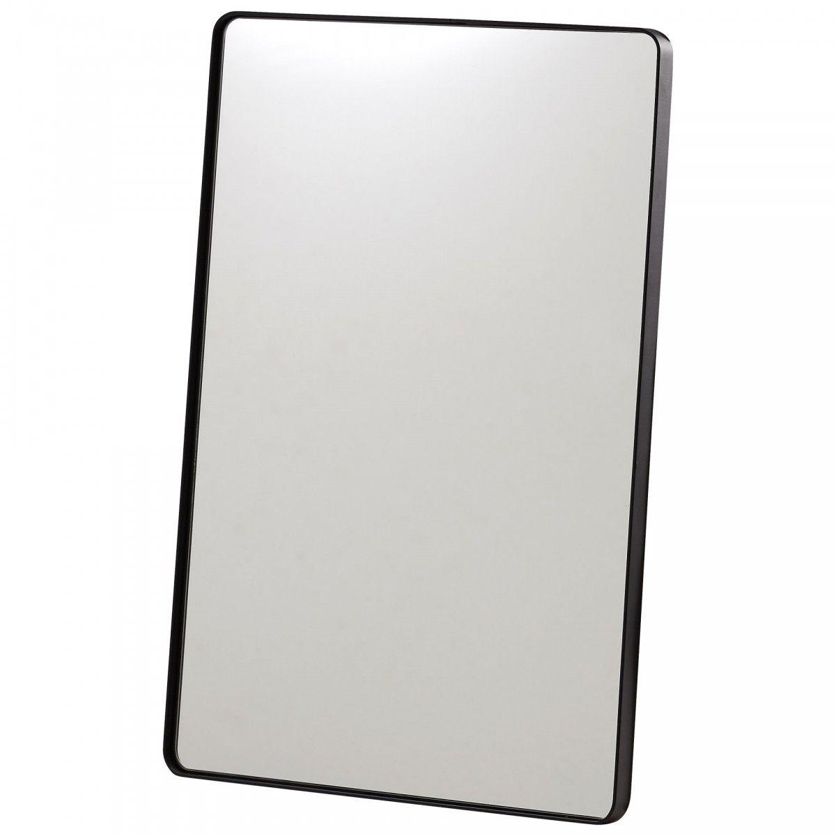 Spiegel Toftlund Schwarz Spiegel Schwarzes Metall Und