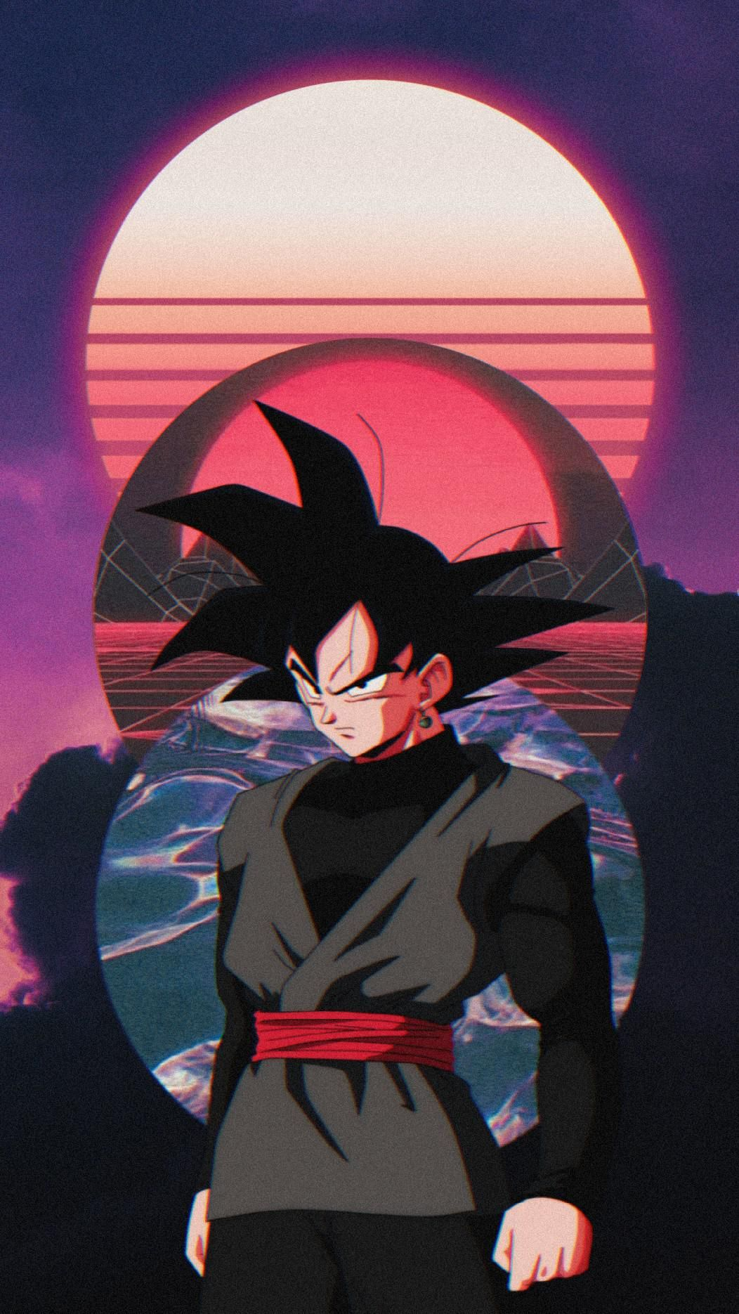 Goku Black Aesthetic Edit Wallpaper By Me 1052x1870 In 2021 Dragon Ball Art Goku Dragon Ball Wallpaper Iphone Dragon Ball Painting