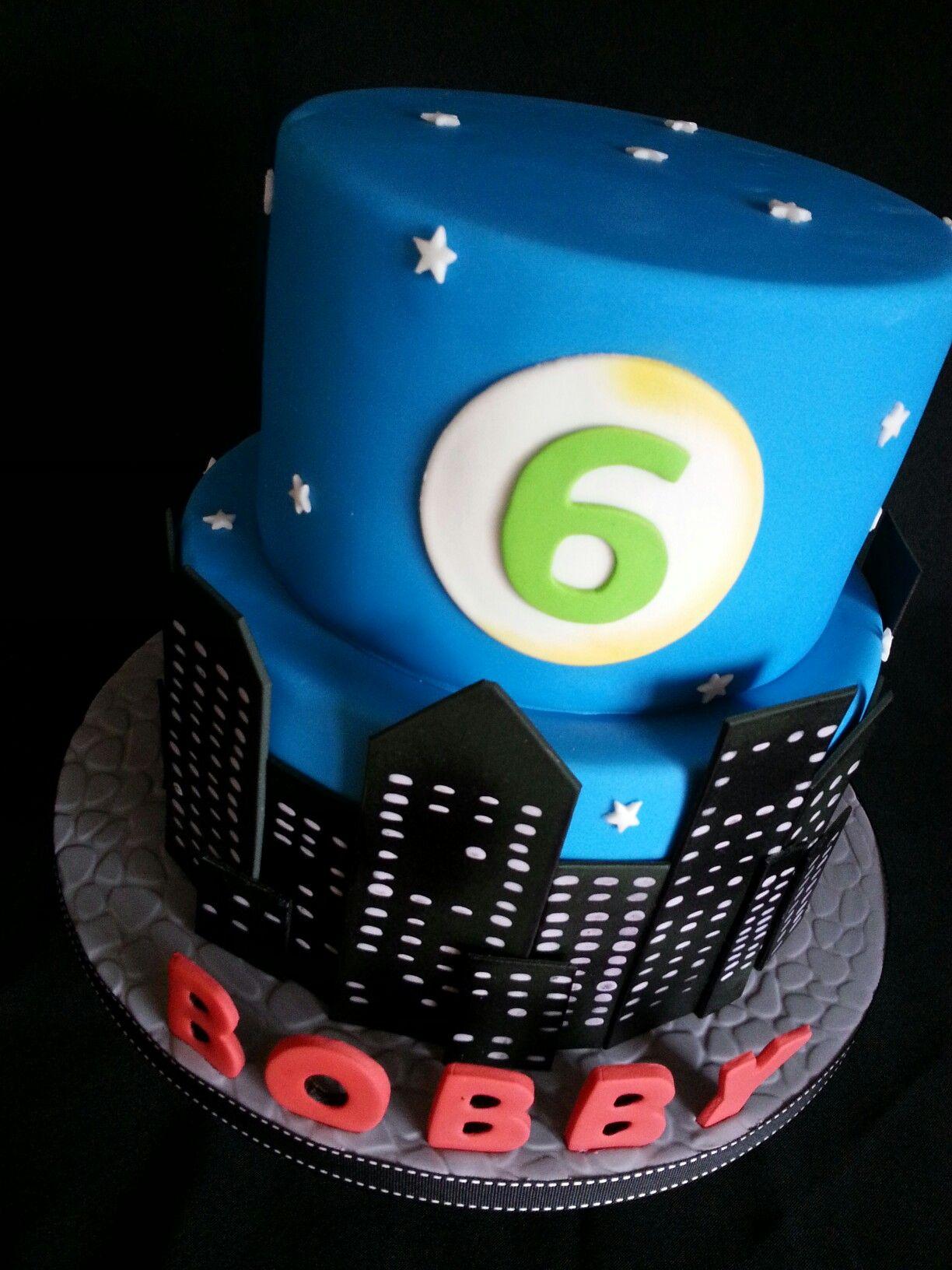 City skyline cake cupcake cakes cake birthday cake