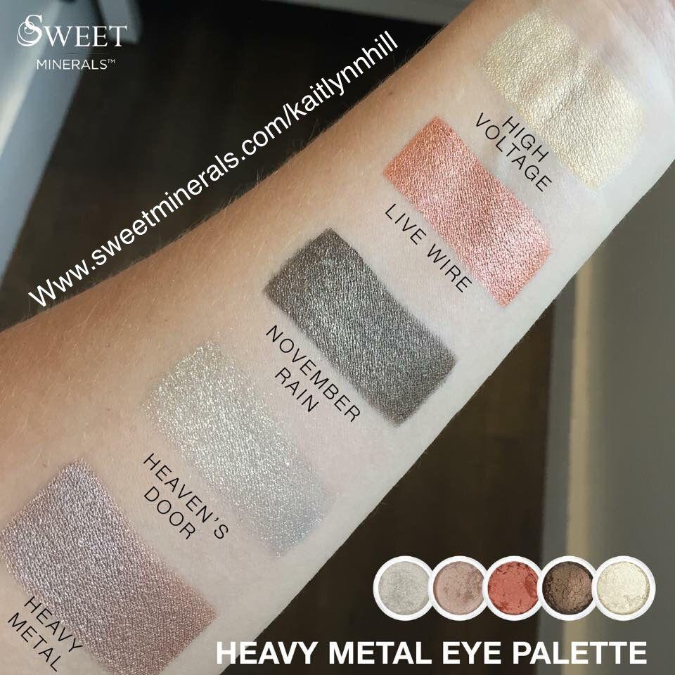 Sweet Minerals 'Heavy metal eye palette'. Fall 2018