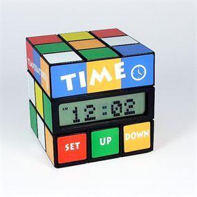 Reloj Despertador Cubo Mágico (15€)
