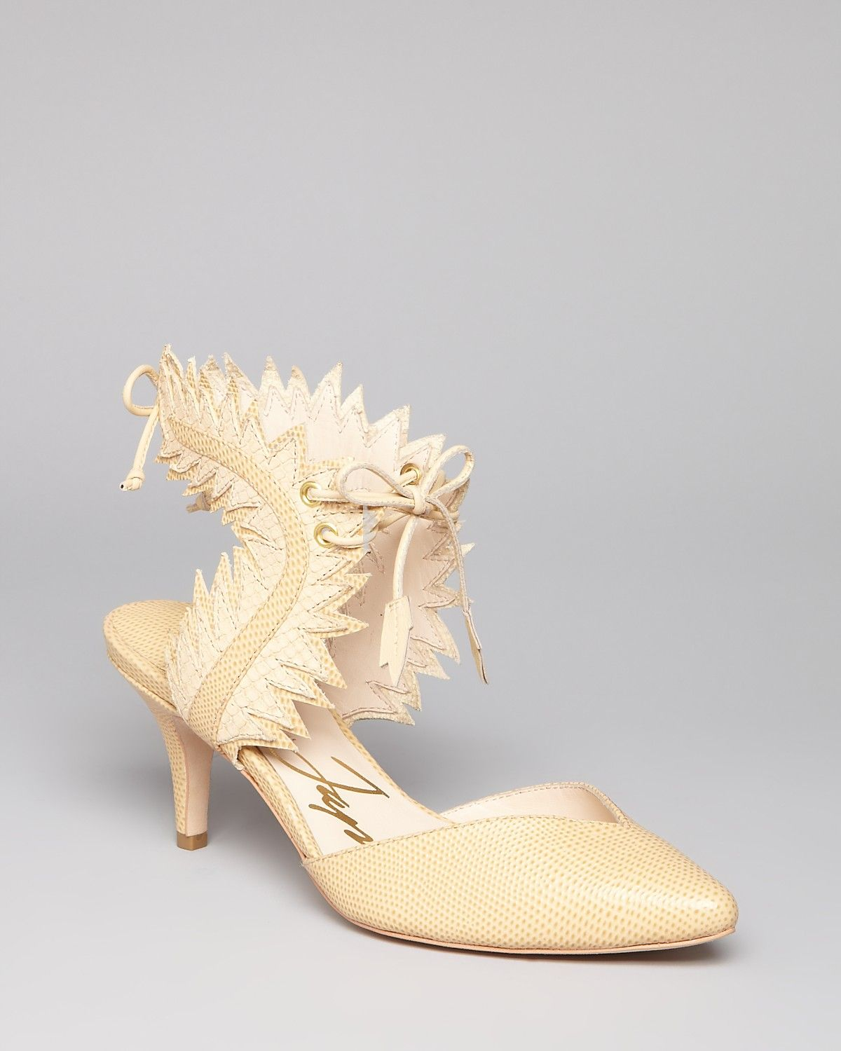 Isa Tapia Pumps - Myrna Asymetric | Bloomingdale's---More from my sister from another mister