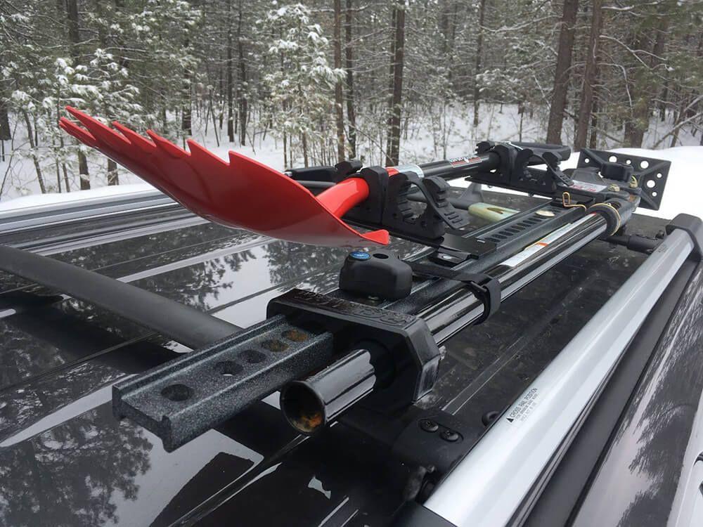 4runner Diy Shovel Mount April 2014 Tct Magazine Truck Roof Rack 4runner Roof Racks