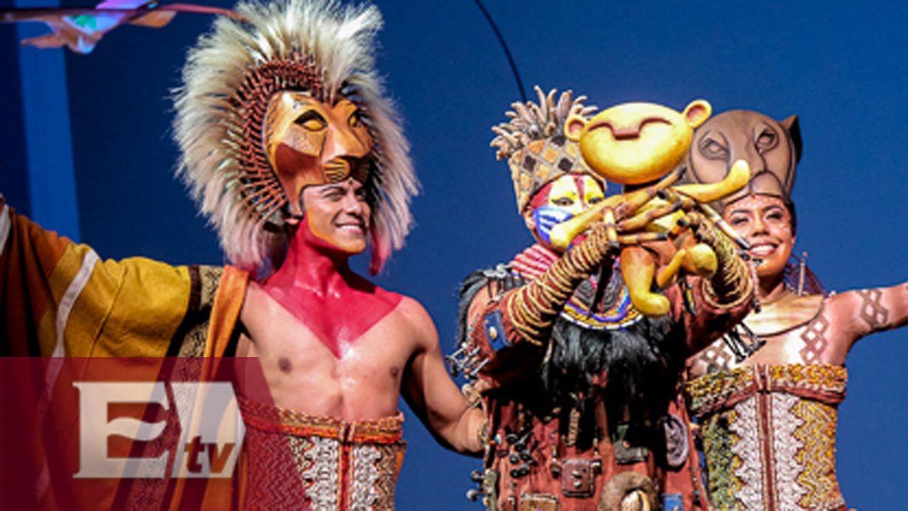 El musical El Rey León brilla en el DF/ Tercera Llamada