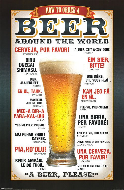 Interesting! Lol - How to order a beer around the world