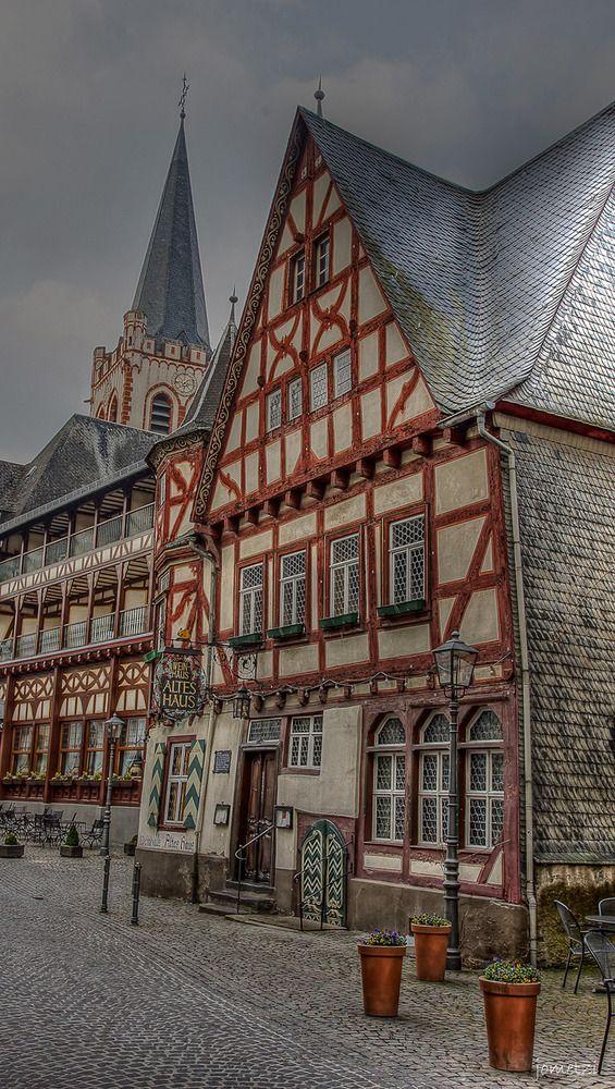 Fachwerkhaus in Rheinland-Pfalz   Architektur, Altes