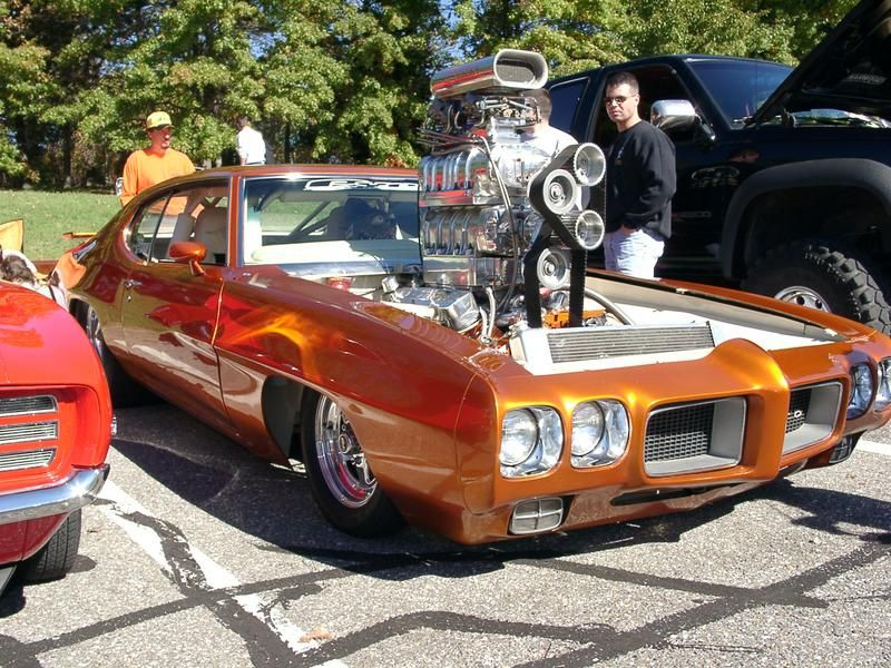 Car Engine Blower : Gto need a navigater to see around the other side of that
