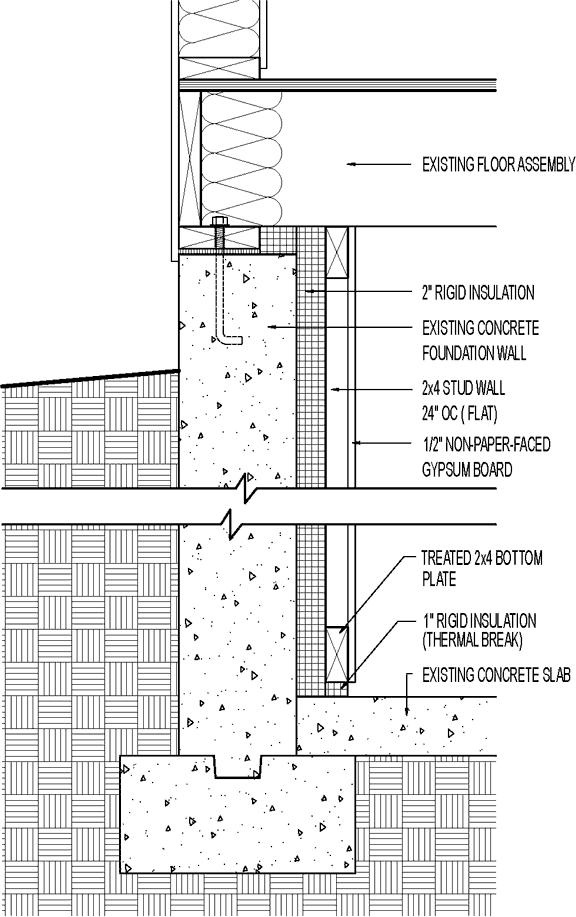 Related Image Rigid Insulation Interior Wall Insulation Concrete Blocks