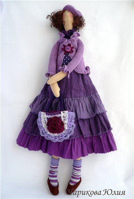 Как сшить текстильную куклу из ткани 5 шаблонов