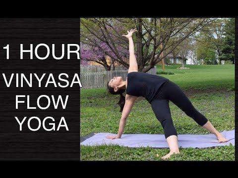 Intermediate Total Body Vinyasa Flow Yoga - 60 Minutes - YouTube