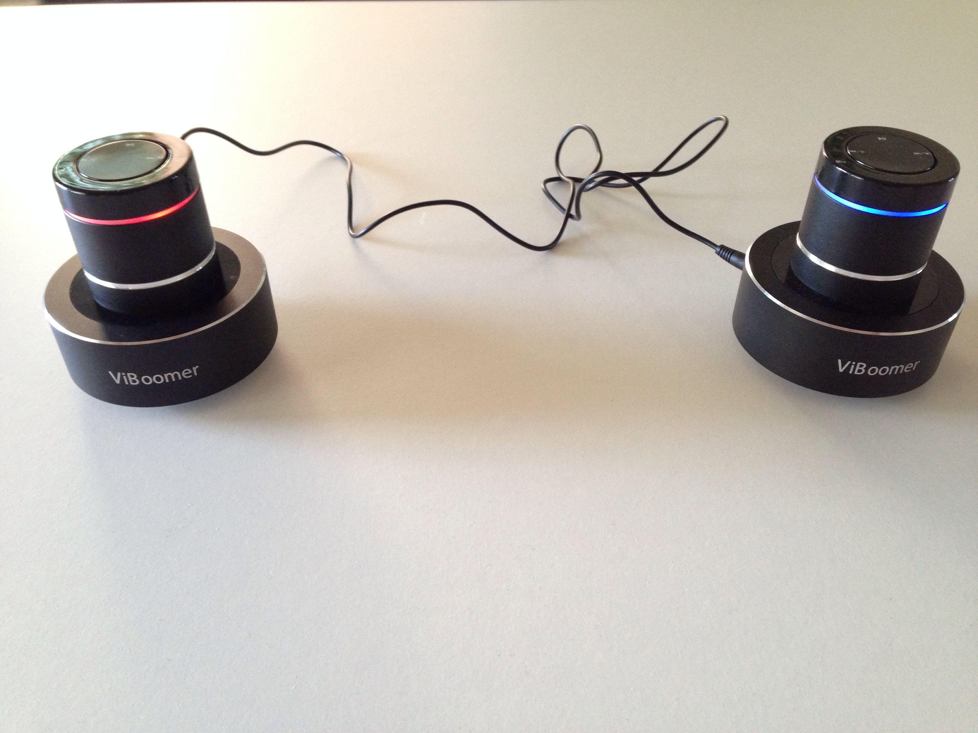 Vidéo en cours pour la nouvelle enceinte Viboomer 26 W avec Bluetooth et Kit main libre