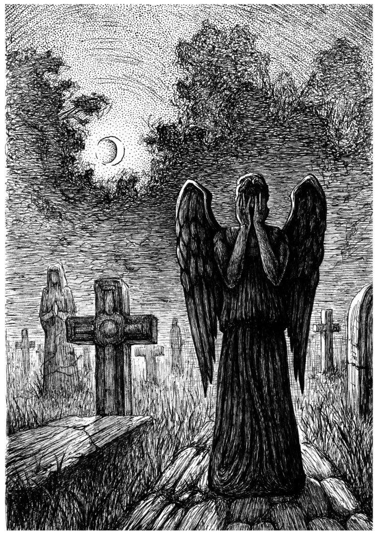 Weeping Angel by Layrensij Weeping angel, Angel art, Angel