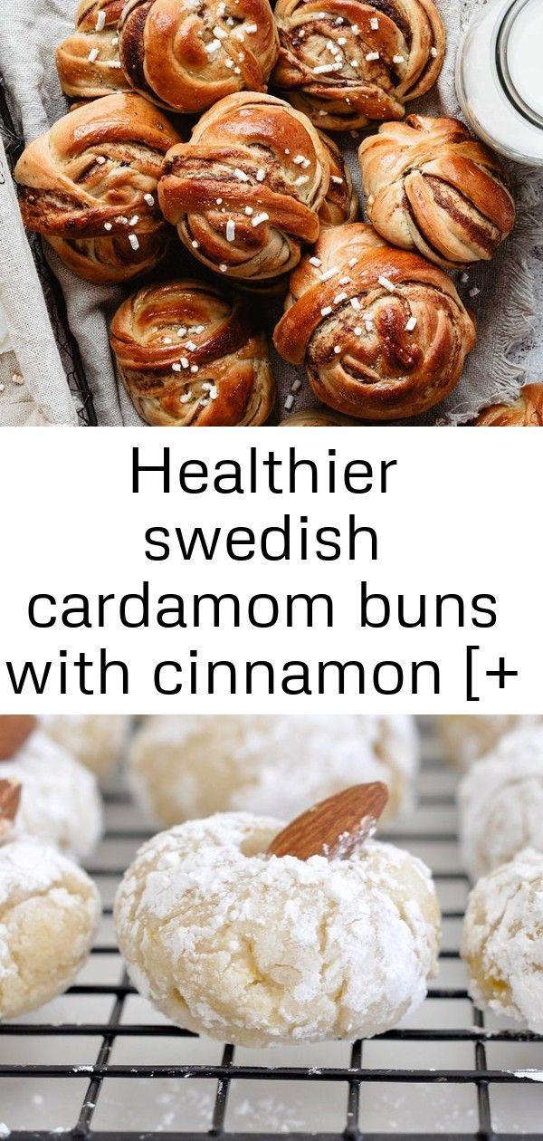 Healthier swedish cardamom buns with cinnamon [+ video] 2 #cardamombuns