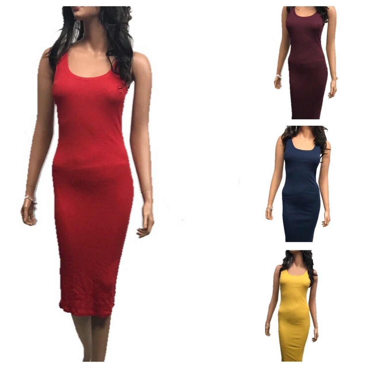 Womens Scoop Neck Sleeveless Ribbed Tank Bodycon Dress S L Bodycon Dress Ideas Of Bodycon Dress Bodycond In 2020 Bodycon Dress Womens Scoop Neck Bodycon Fashion [ 1280 x 1280 Pixel ]