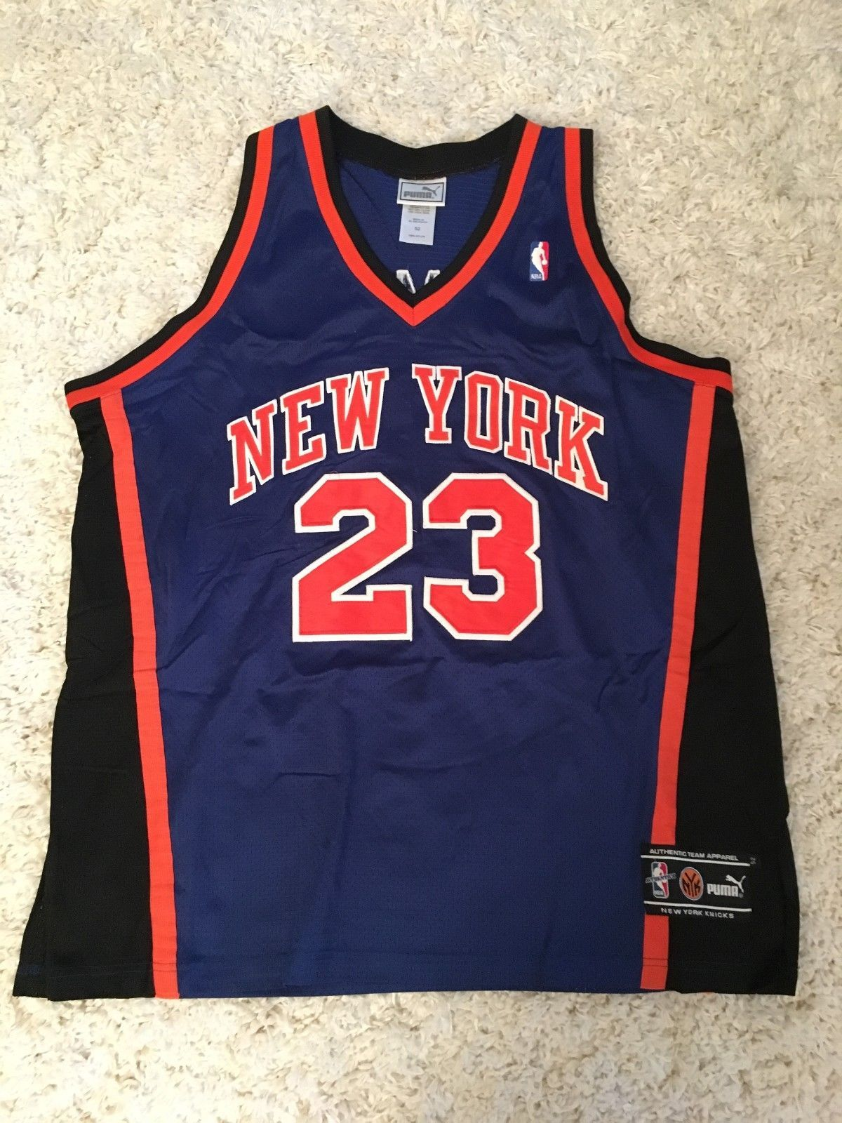 Marcus Camby New York Knicks authentic NBA Puma jersey size 52 (eBay Link) e5cec650d