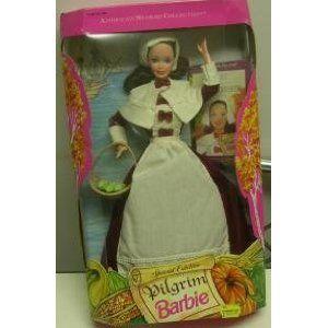 Barbie Doll Pilgrim American Stories 1994 New