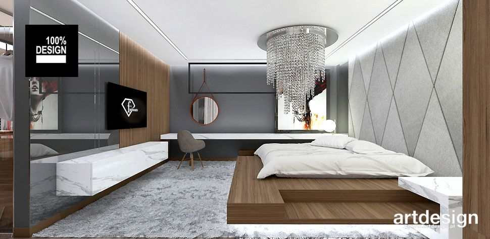 Projekt Sypialni Artdesign Sypialnia Luxury Homes Room I Decor