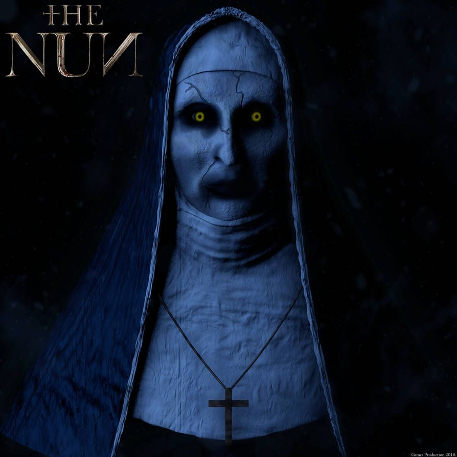 The Nun Valak 3d Model Showcase By Gamesproduction Valak Horror Lovers Nuns